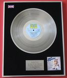 RUBETTES - The Best of Rubettes PLATINUM LP Presentation Disc